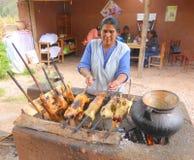 Μαγειρεύοντας ινδικά χοιρίδια Στοκ Εικόνες