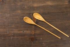 μαγειρεύοντας κουτάλι&al Στοκ εικόνα με δικαίωμα ελεύθερης χρήσης