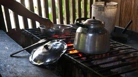 Μαγειρεύοντας μέρος στο Περού Στοκ Εικόνες