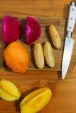 Μαγειρεύοντας μαγειρική κατηγορία banan που ξεφλουδίζεται Στοκ εικόνες με δικαίωμα ελεύθερης χρήσης