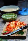 μαγειρεύοντας προετοι& Στοκ Εικόνες