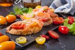 μαγειρεύοντας συστατικά ιταλικά τροφίμων Στοκ εικόνα με δικαίωμα ελεύθερης χρήσης