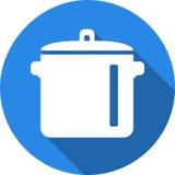 Μαγειρεύοντας σύμβολα δοχείων απεικόνιση αποθεμάτων