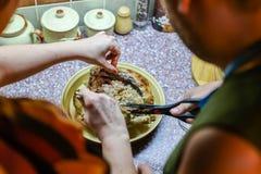 Μαγειρεύοντας Τουρκία Στοκ Εικόνα