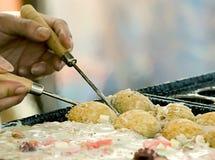 μαγειρεύοντας τρόφιμα ια& Στοκ Εικόνες