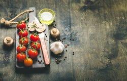 Μαγειρεύοντας υπόβαθρο τροφίμων Στοκ φωτογραφία με δικαίωμα ελεύθερης χρήσης