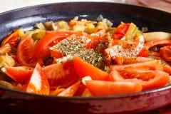 Μαγειρεύοντας φυτικό stew, Στοκ Φωτογραφία