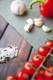 Μαγειρεύοντας χορτοφάγο γεύμα Στοκ Φωτογραφίες