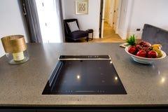 Μαγειρεύοντας Hob γυαλιού Στοκ εικόνα με δικαίωμα ελεύθερης χρήσης