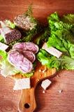 Μαγειρική προγευμάτων Στοκ εικόνα με δικαίωμα ελεύθερης χρήσης