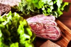 Μαγειρική προγευμάτων Στοκ Φωτογραφία