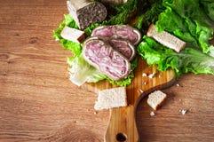 Μαγειρική προγευμάτων Στοκ εικόνες με δικαίωμα ελεύθερης χρήσης