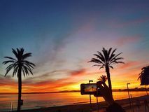 Μαγικά sunsets Στοκ Εικόνες