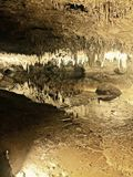 μαγικές υπόγειες σπηλιές στοκ εικόνες