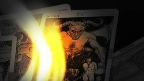 Μαγικές Witchcraft τύχης κάρτες Tarot αφηγητών μυστικές φιλμ μικρού μήκους