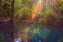 Μαγική λίμνη στοκ φωτογραφίες