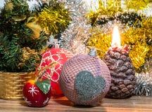 Μαγική εικόνα Χριστουγέννων Στοκ εικόνα με δικαίωμα ελεύθερης χρήσης