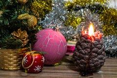 Μαγική εικόνα Χριστουγέννων Στοκ εικόνες με δικαίωμα ελεύθερης χρήσης