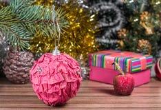 Μαγική εικόνα Χριστουγέννων Στοκ Φωτογραφία