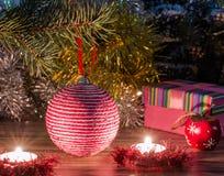 Μαγική εικόνα Χριστουγέννων Στοκ φωτογραφία με δικαίωμα ελεύθερης χρήσης