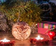 Μαγική εικόνα Χριστουγέννων Στοκ φωτογραφίες με δικαίωμα ελεύθερης χρήσης