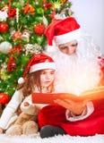 Μαγική ιστορία Χριστουγέννων Στοκ Φωτογραφία
