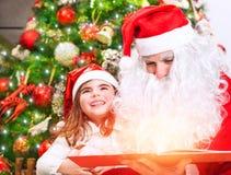 Μαγική ιστορία Χριστουγέννων Στοκ εικόνα με δικαίωμα ελεύθερης χρήσης