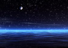 μαγική νύχτα Στοκ Εικόνες