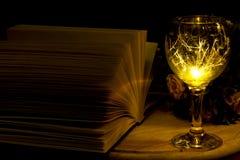 Μαγική λογοτεχνία Στοκ εικόνα με δικαίωμα ελεύθερης χρήσης