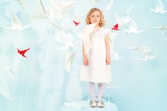 Μαγική παιδική ηλικία Στοκ Εικόνες