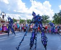 Μαγική παρέλαση βασίλειων του παγκόσμιου Ορλάντο Φλώριδα της Disney Στοκ Φωτογραφίες