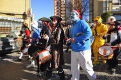 μαγική παρέλαση βασιλιάδ&ome Στοκ φωτογραφία με δικαίωμα ελεύθερης χρήσης
