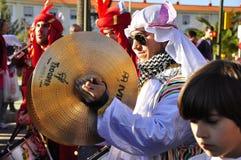 μαγική παρέλαση βασιλιάδ&ome Στοκ Εικόνες