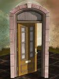 Μαγική πόρτα Στοκ Φωτογραφία