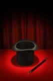 μαγική ράβδος σειράς καπέ&lam Στοκ Εικόνες