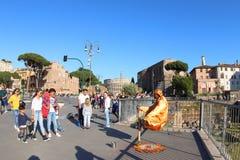 Μαγική Ρώμη, Ιταλία Στοκ Φωτογραφίες