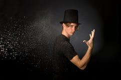 μαγική σκόνη Στοκ φωτογραφία με δικαίωμα ελεύθερης χρήσης