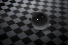 Μαγική σφαίρα κρυστάλλου Στοκ φωτογραφία με δικαίωμα ελεύθερης χρήσης
