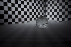 Μαγική σφαίρα κρυστάλλου Στοκ Φωτογραφία