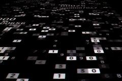 Μαγικοί αριθμοί προβαλλόμενοι Στοκ Εικόνες