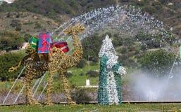 Μαγικός βασιλιάς, διακόσμηση Χριστουγέννων, Ισπανία Στοκ φωτογραφία με δικαίωμα ελεύθερης χρήσης