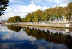 μαγικός καθρέφτης liffey Στοκ φωτογραφία με δικαίωμα ελεύθερης χρήσης