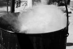 Μαγικός καπνός καζανιών Στοκ Εικόνες