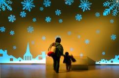 μαγικός να περπατήσει κόσμος Στοκ φωτογραφία με δικαίωμα ελεύθερης χρήσης