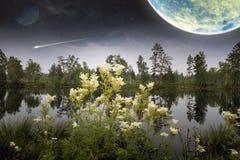 Μαγικός σκοτεινός πλανήτης Στοκ εικόνες με δικαίωμα ελεύθερης χρήσης