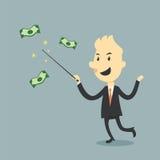 Μαγικός των χρημάτων ελεύθερη απεικόνιση δικαιώματος