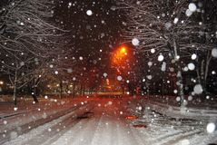 Μαγικός χειμώνας Στοκ εικόνες με δικαίωμα ελεύθερης χρήσης