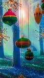 Μαγικό δάσος Χριστουγέννων Στοκ φωτογραφία με δικαίωμα ελεύθερης χρήσης