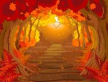 Μαγικό δάσος απεικόνιση αποθεμάτων