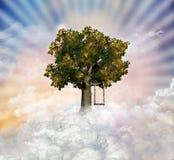 Μαγικό δέντρο ελεύθερη απεικόνιση δικαιώματος